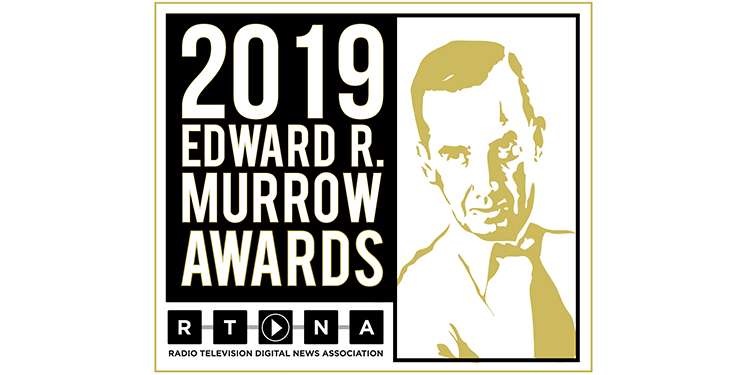 RTDNA Murrow Awards 2019