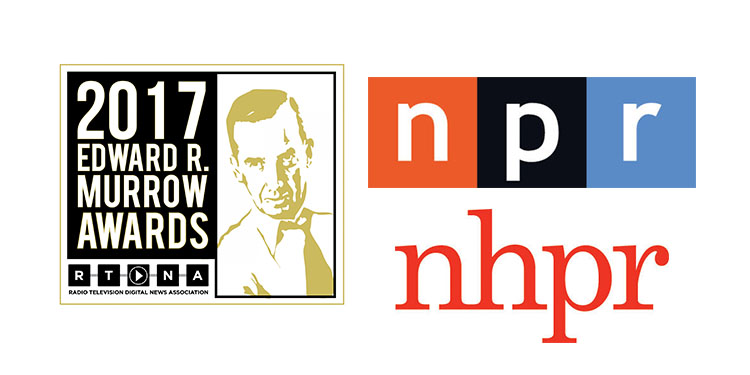 2017 National Murrow Award winners