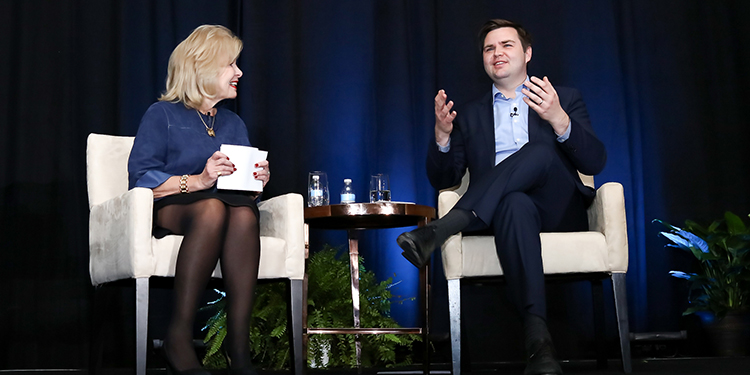 J.D. Vance, keynote at Public Media Thought Leader Forum