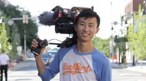 'Minding the Gap' director Bing Liu; courtesy of Bing Liu