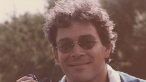 Raul Julia at his country home, 1982. Photo by Rona Elliot