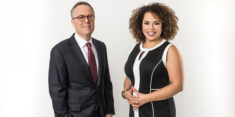 In Principle co-hosts Michael Gerson, nationally syndicated columnist for The Washington Post, and Amy Holmes, political news commentator. In Principle premieres on PBS Friday, April 13, 2018 at 8:30 p.m. ET (check local listings).