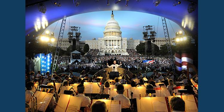 Memorial Day Concert on PBS - Courtesy: Capitol Concerts