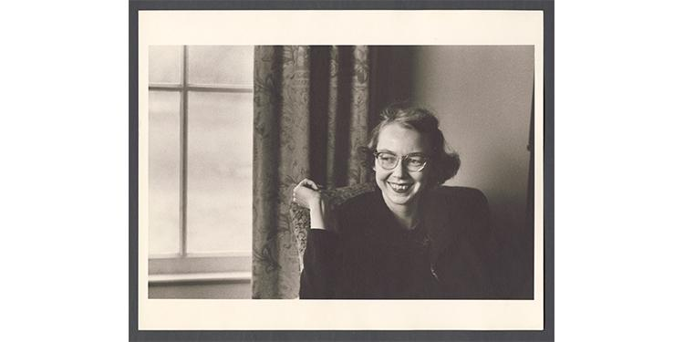 Literary icon Flannery O'Connor is featured in an American Masters special premiering March 23 on PBS (check local listings). Courtesy of Joe McTyre