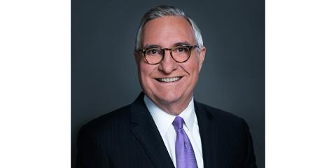 Headshot of Male in a suit jacket and tie--Jack Galmiche, past President and CEO, Nine Network of Public Media