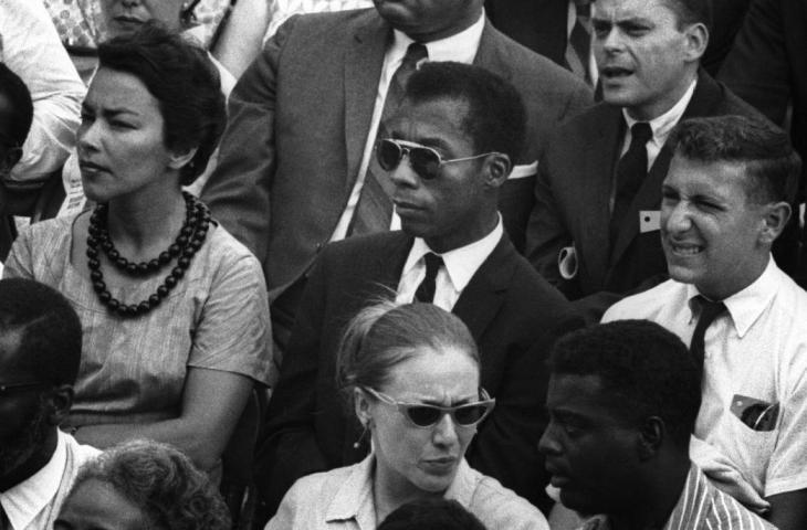 I Am Not Your Negro. James Baldwin at the March on Washington for Jobs and Freedom. August 28, 1963. Credit: Dan Budnik