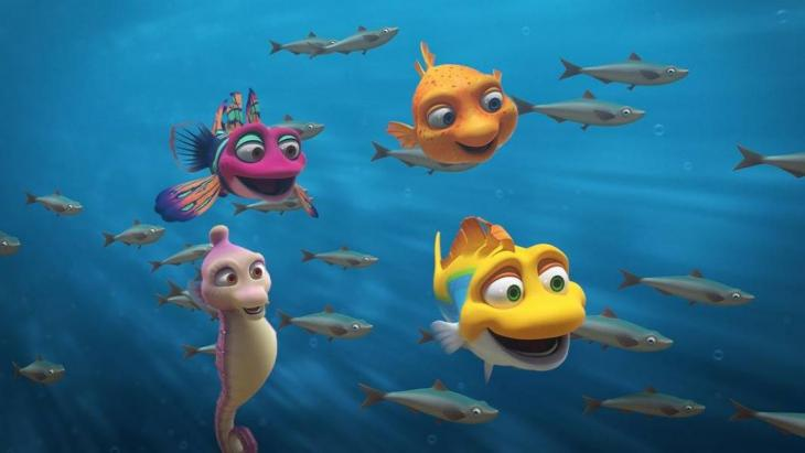 PBS KIDS' series SPLASH AND BUBBLES is designed to encourage kids ages 4-7 to explore the natural undersea world.Courtesy of SPLASH AND BUBBLES TM & © 2016 The Jim Henson Company. © Herschend Enterprises. All Rights Reserved.