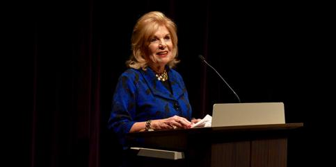 CPB President and CEO Pat Harrison at WTTW American Creed Community Conversation. Photo courtesy: WTTW