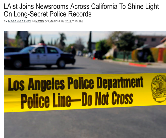 California Journalism Collaboration