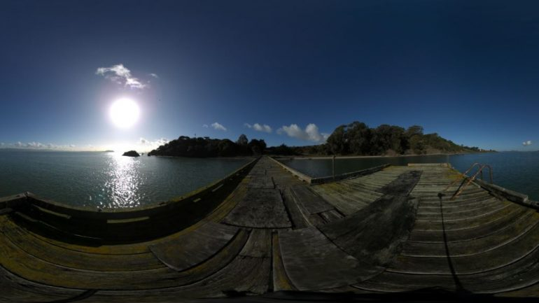 Pacific Gateway: Angel island VR